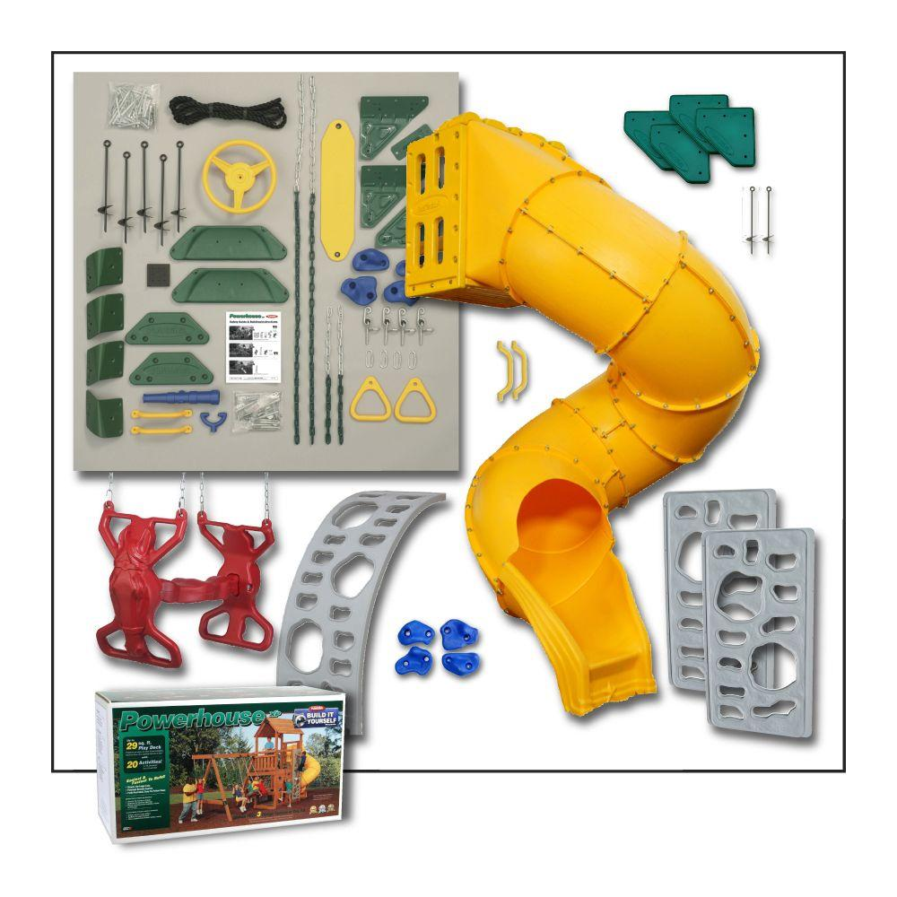 Powerhouse Build It Yourself Gold Playset (Lumber Not Included)