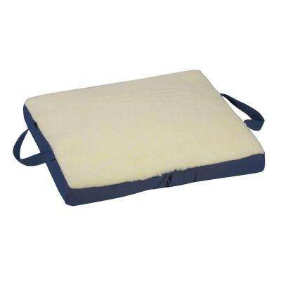 16 in. x 18 in. x 2 in. Gel/Foam Flotation Cushion in Cream