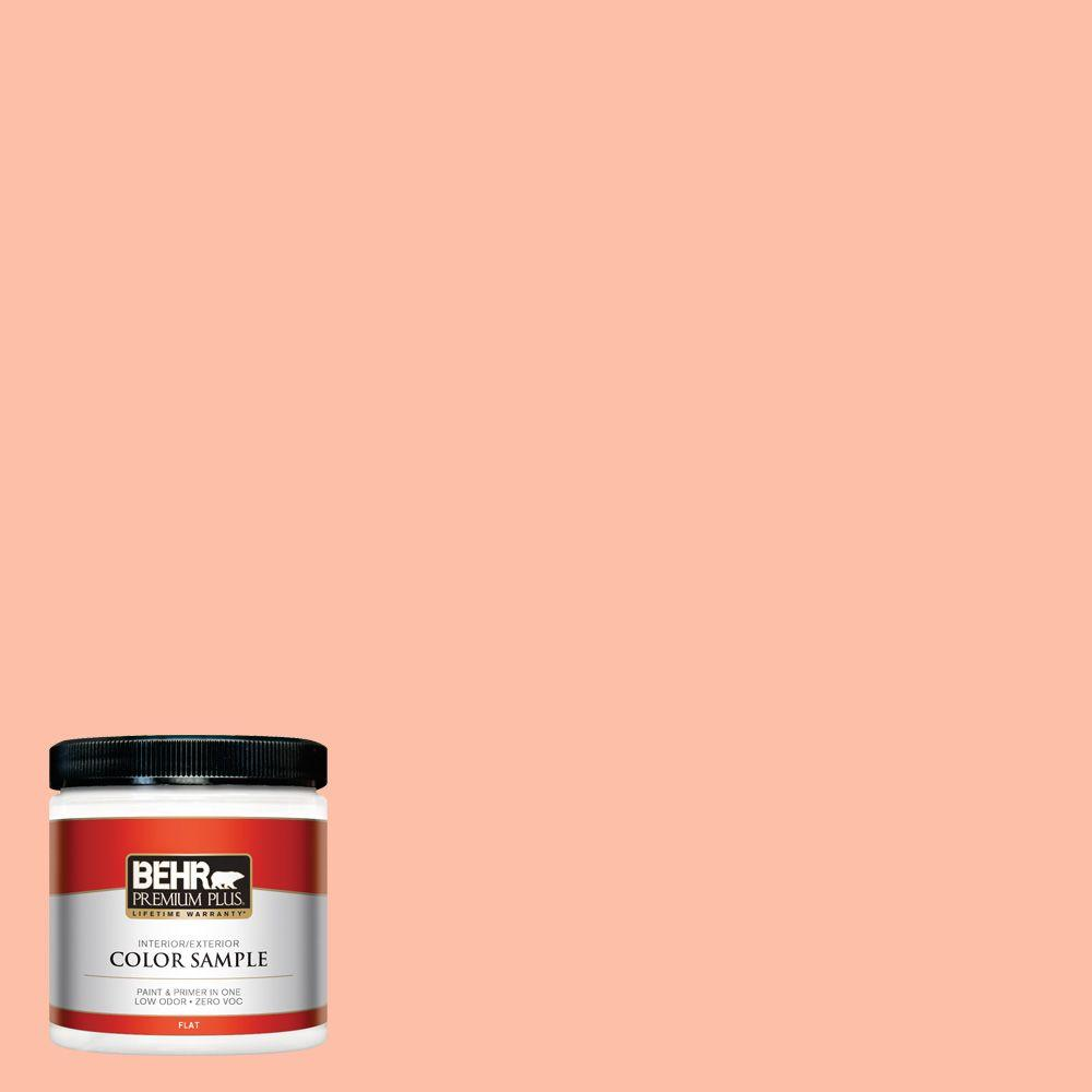 BEHR Premium Plus 8 oz. #220A-3 Sweet Apricot Interior/Exterior Paint Sample