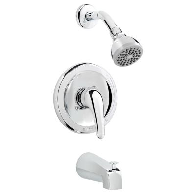 Belanger Single-Handle 1-Spray Tub and Shower Faucet in Polished Chrome (Valve Included)