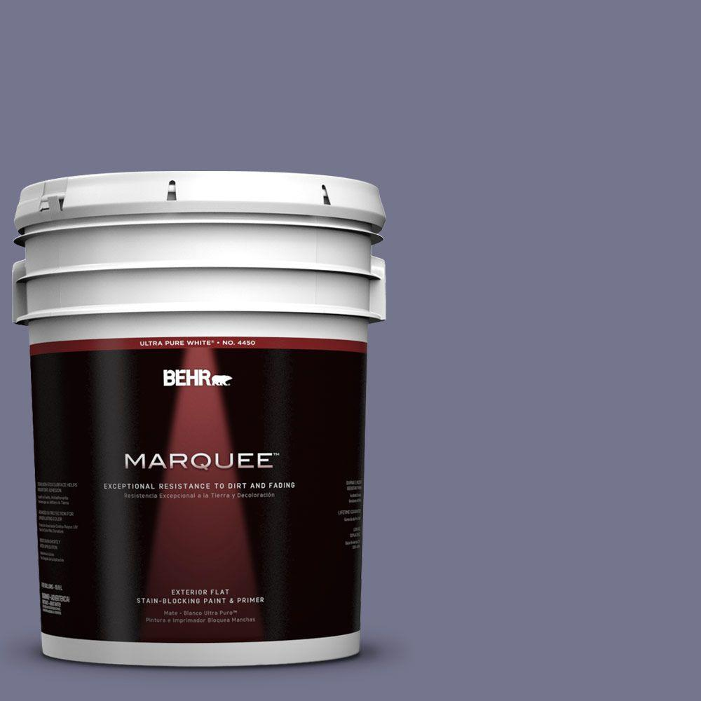 BEHR MARQUEE 5-gal. #630F-5 Vintage Flat Exterior Paint