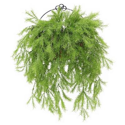 20 in. Pine Branch Wall Basket
