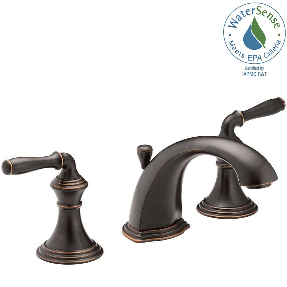 KOHLER Devonshire In Widespread Handle Bathroom Faucet With - Kohler devonshire bathroom sink faucet