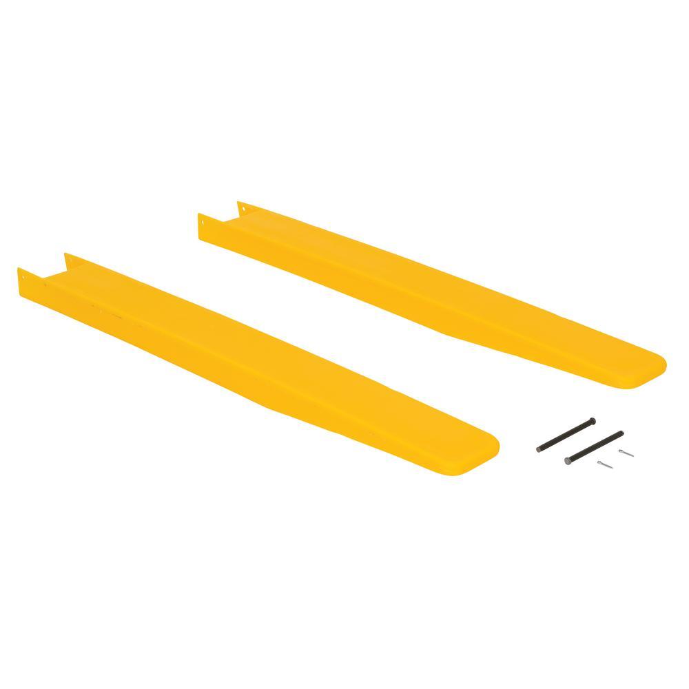 4 in. x 42 in. Fork Blade Protectors Polyethylene
