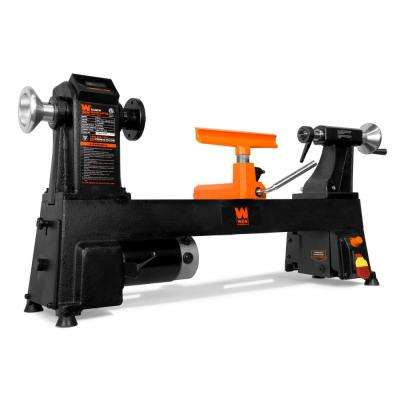 4.5 Amp 12 in. x 18 in. Cast Iron Wood Variable Speed Lathe