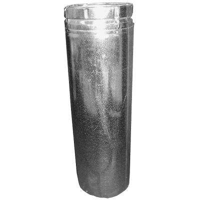 5 in. x 18 in. Adjustable B-Vent Pipe