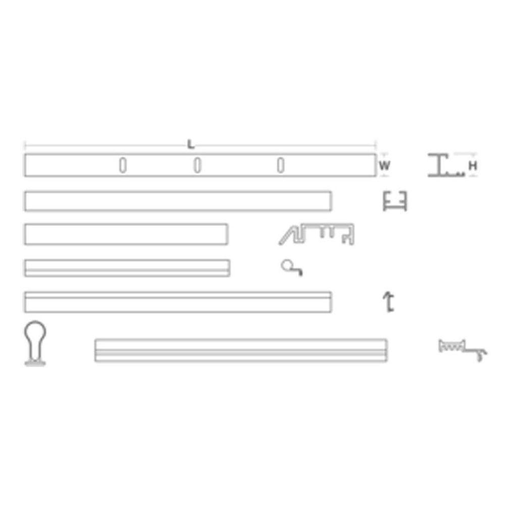 30 in. - 48 in. Pivot Door Assembly Kit