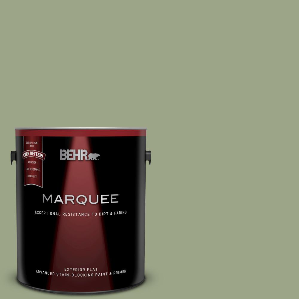 Behr Marquee 1 Gal Ppu11 07 Clary Sage Flat Exterior