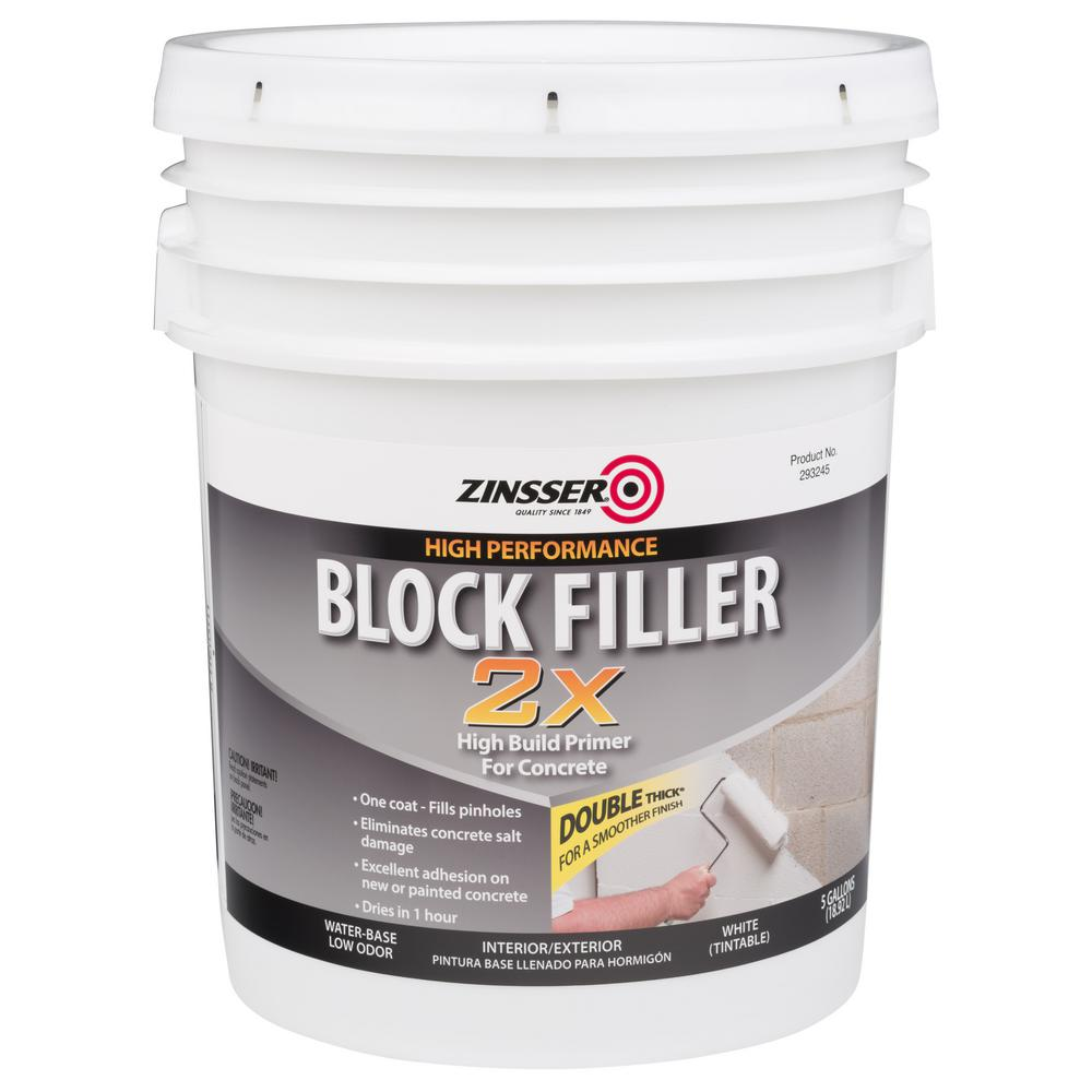 Zinsser 5 Gal. Block Filler 2X Primer-293248