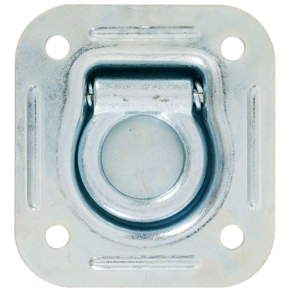 4-7/16 in. Square Flip Ring Recessed Anchor