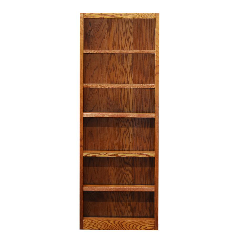 Concepts In Wood Midas Dry Oak Open Bookcase