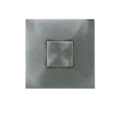 Urban Metals Stainless 2 in. x 2 in. Composite Dot Geo Wall Tile