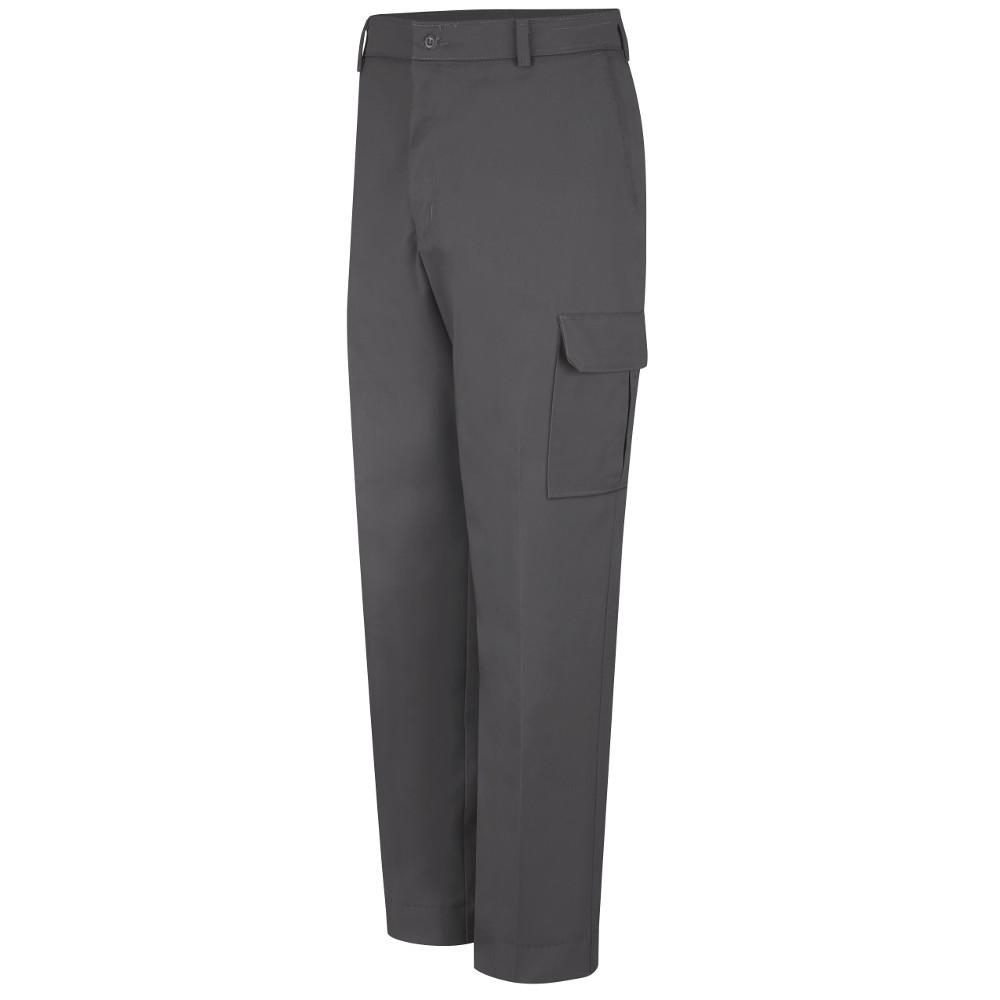 Red Kap Men's Size 38 in. x 32 in. Charcoal Industrial Cargo Pant