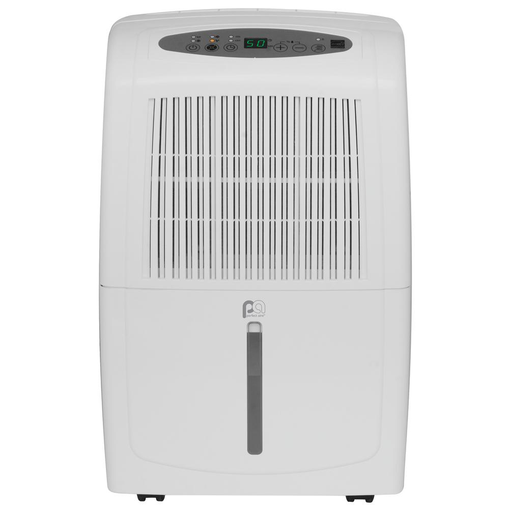 Ge 50 Pt Dehumidifier Energy Star Adel50lw The Home Depot