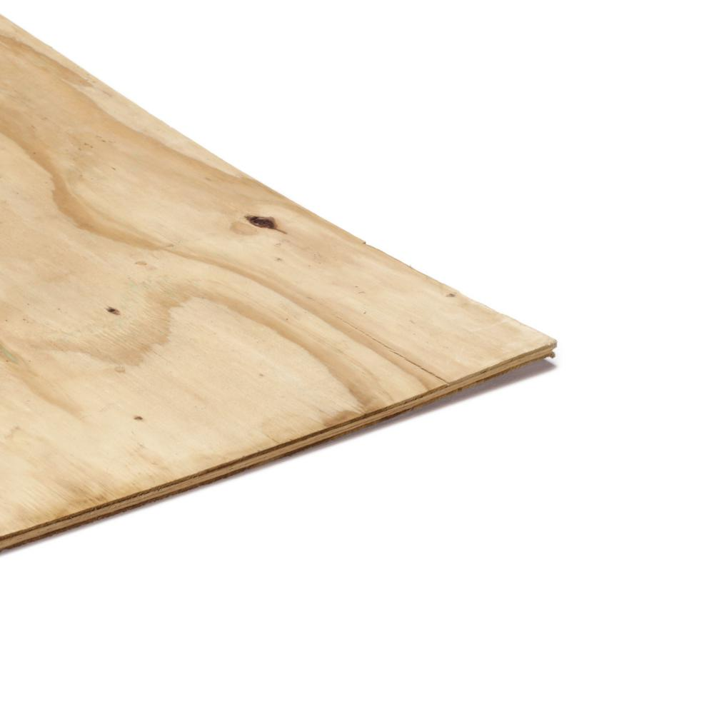 1 2 In X 4 Ft X 8 Ft Cdx Ground Contact Pressure Treated Plywood 131876 The Home Depot