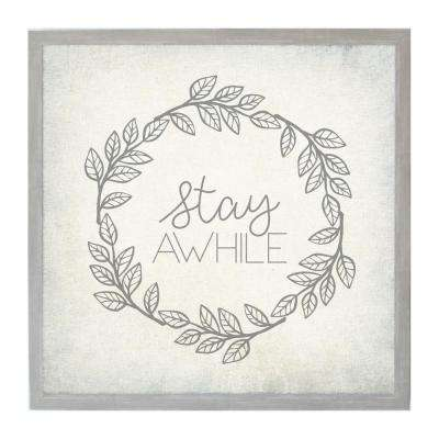 Stay Awhile, VINTAGE FRAME, Magnetic Memo Board