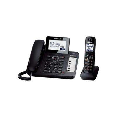 DECT 6.0+ Corded/Cordless Phone with All-Digital Answering System, Talking CID, Speakerphone and 1 Handset