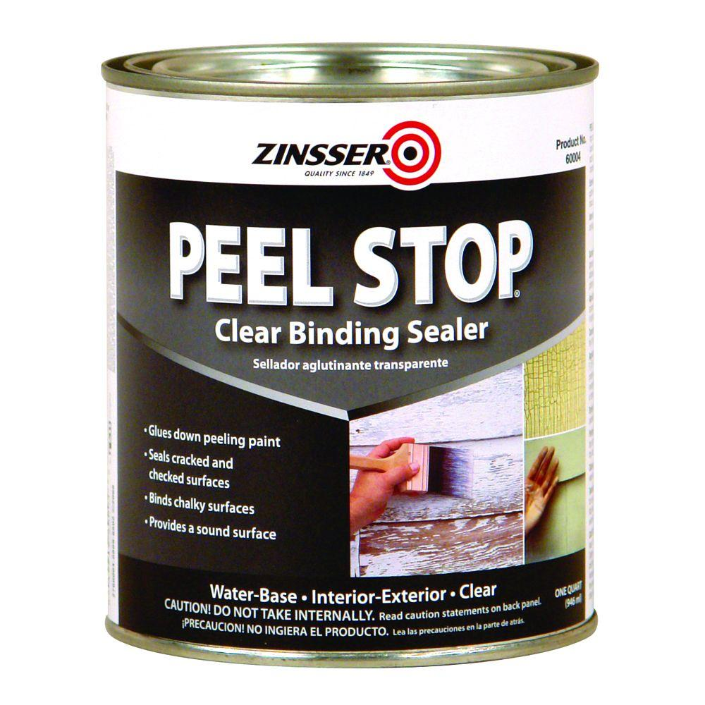 Zinsser 1-qt. Peel Stop Water Base Clear Interior/Exterior Binding Primer and Sealer (Case of 6)