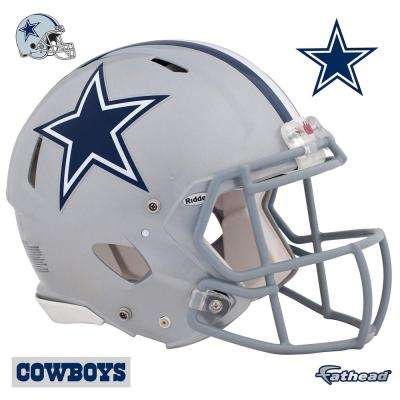 45 in. H x 56 in. W Dallas Cowboys Helmet Wall Mural
