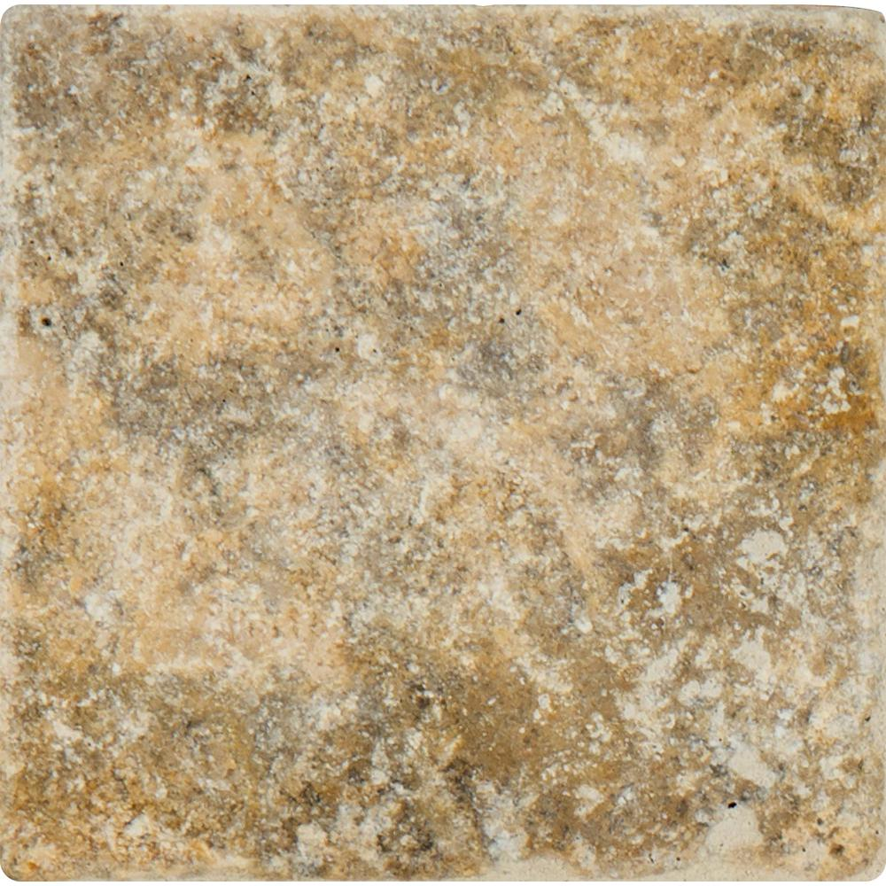 MSI Porcini 16 in. x 16 in. Tumbled Travertine Paver Tile (20 Pieces / 35.6 Sq. ft. / Pallet)