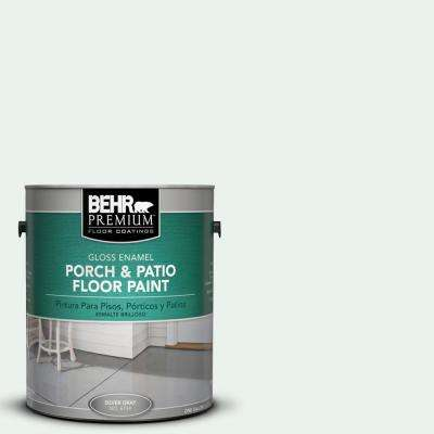 1 gal. #W-D-500 Cascade White Gloss Interior/Exterior Porch and Patio Floor Paint