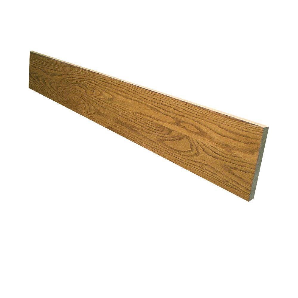 0.75 in. x 7.5 in. x 48 in. Prefinished Marsh Red Oak Riser