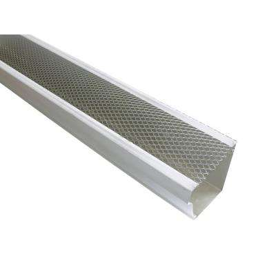 5 in. x 4 ft. Armour Screen Lock-On Gutter Guard (25/Pro-Pack)