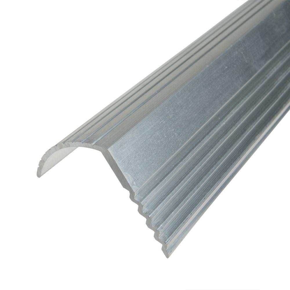 Trafficmaster Silver 1 1 16 In X 144 In Stair Edging