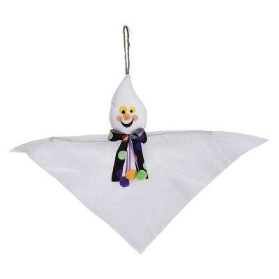 12 in. Halloween Value Ghost Hanging Decoration (8-Pack)