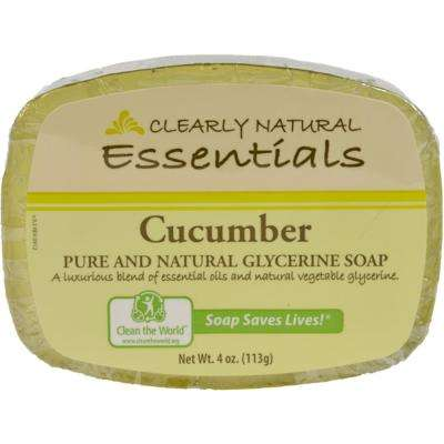 4 oz. Each Glycerin Bar Soap Cucumber (Pack of 12)