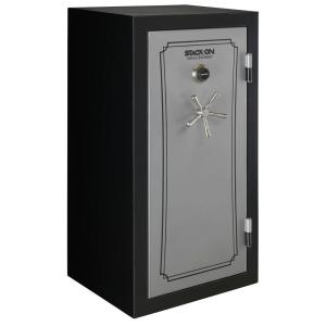 Total Defense 40-Gun Fire/Waterproof Combination Lock Safe, Gray