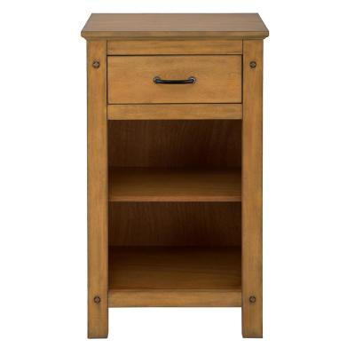 Avondale 20 in. W x 35 in. H Floor Cabinet in Weathered Pine