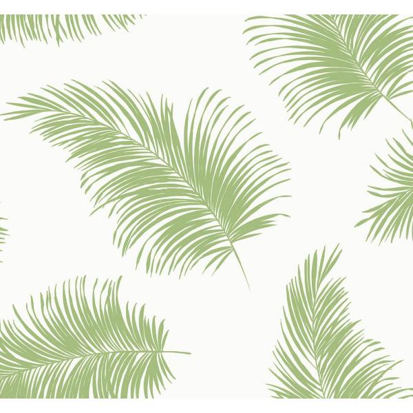 Luxe Haven Summer Fern Tossed Palm Peel and Stick Wallpaper (Covers 40.5 sq. ft.)