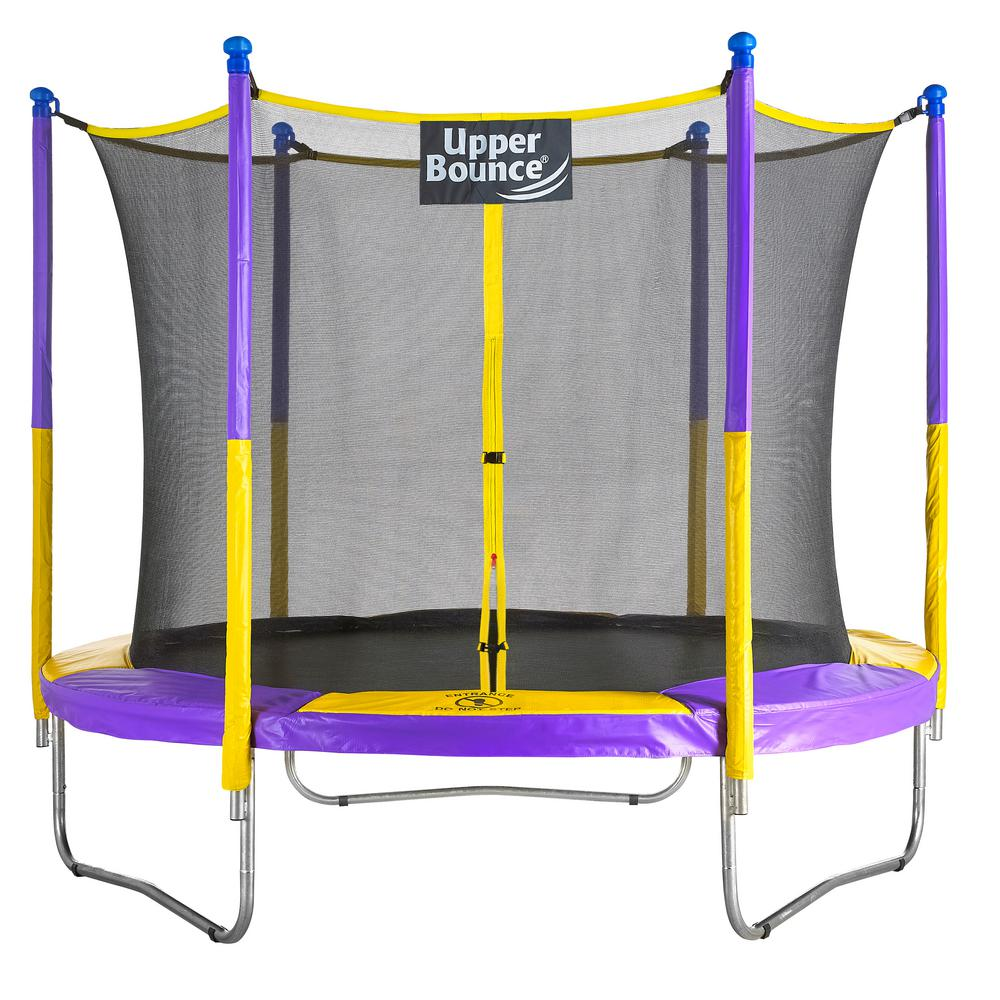 Upper Bounce 9 ft. Trampoline and Enclosure Set