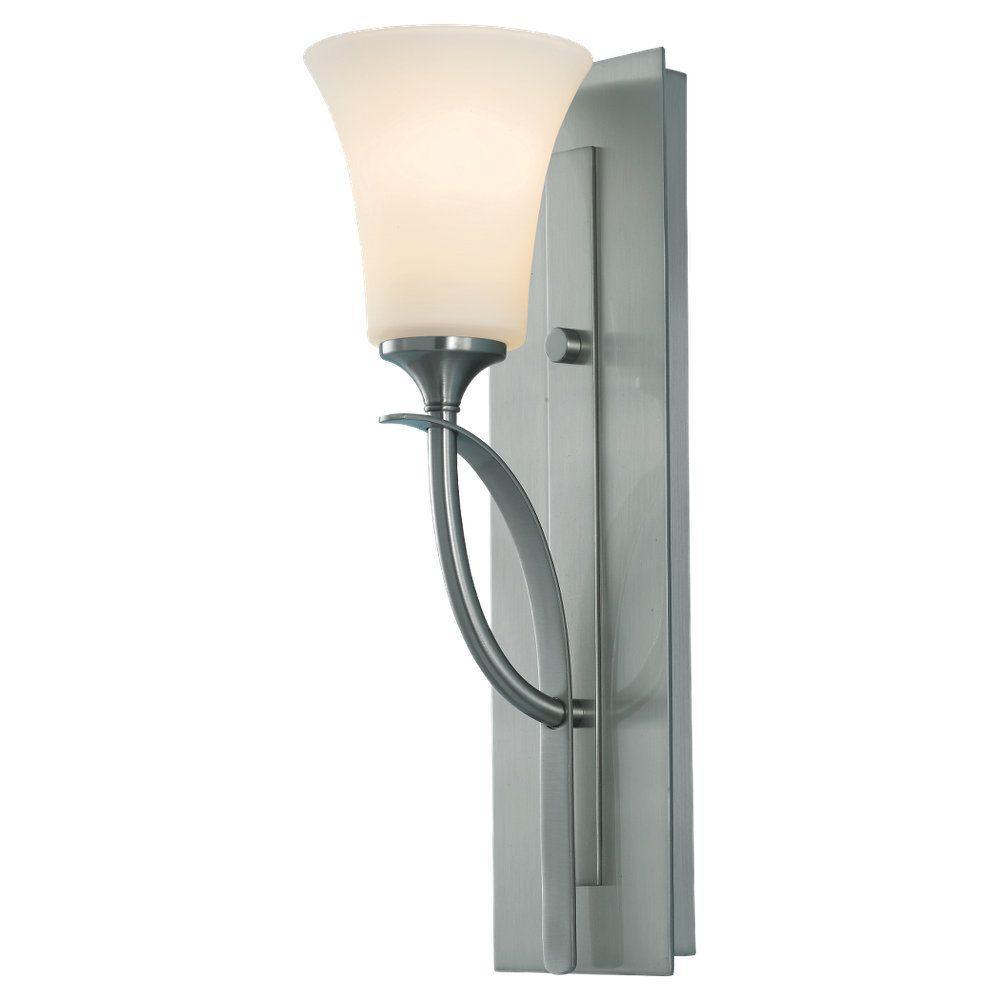 Barrington Brushed Steel Vanity Light