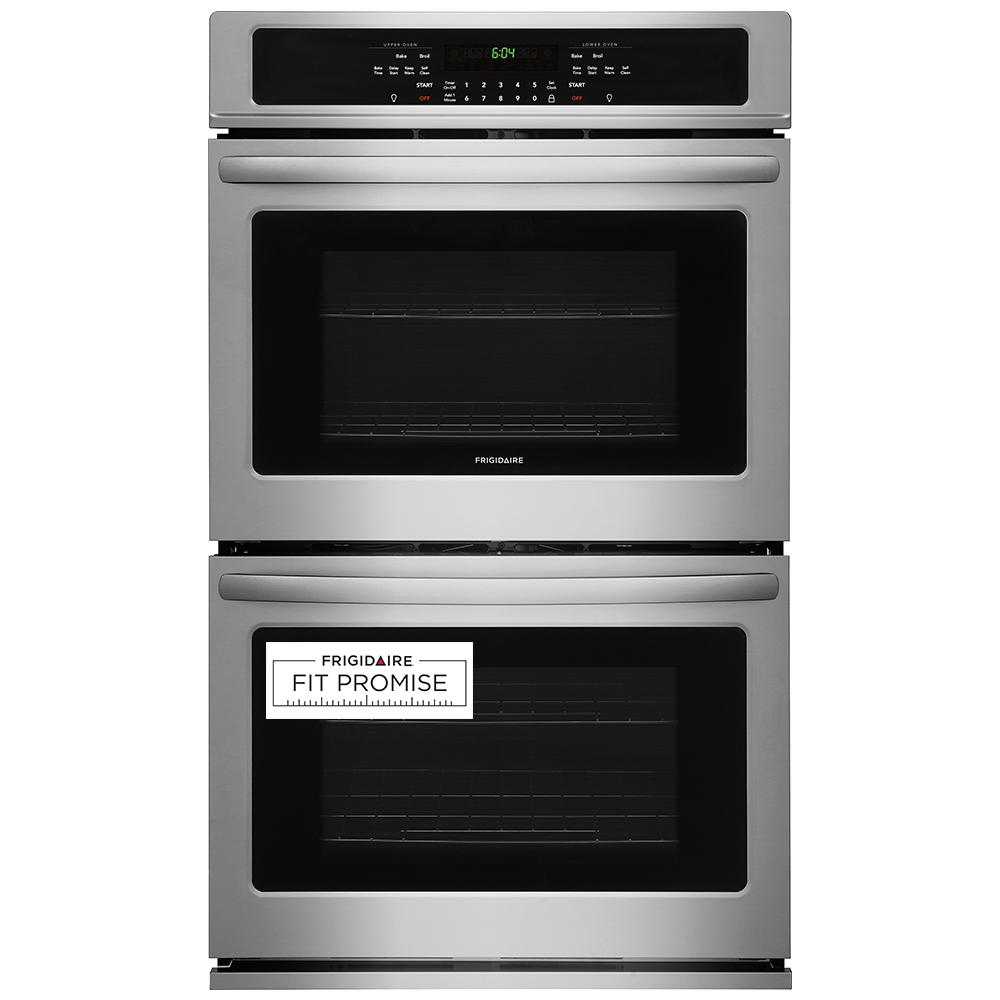 Frigidaire 27 In Double Electric Wall Oven Self Cleaning
