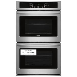 27 in. Double Electric Wall Oven Self-Cleaning in Stainless Steel