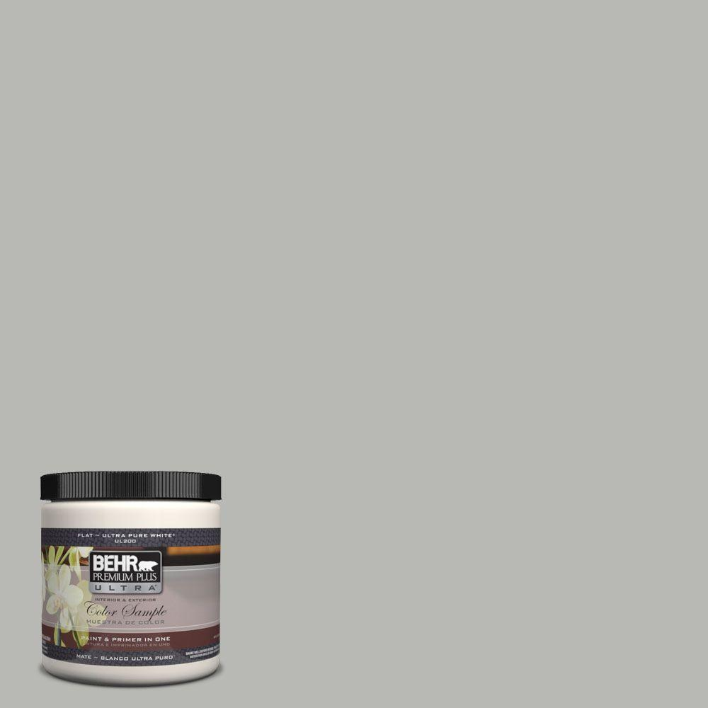 #UL260 18 Classic Silver Interior/Exterior Paint Sample UL260 18   The Home  Depot