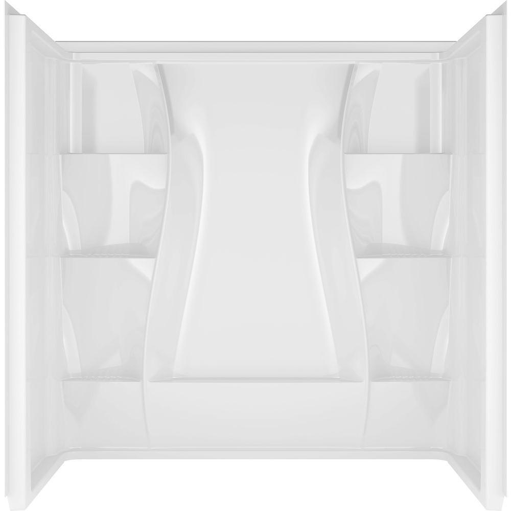 Three Piece Direct To Stud Tub Surround, Bathroom Tub Surrounds