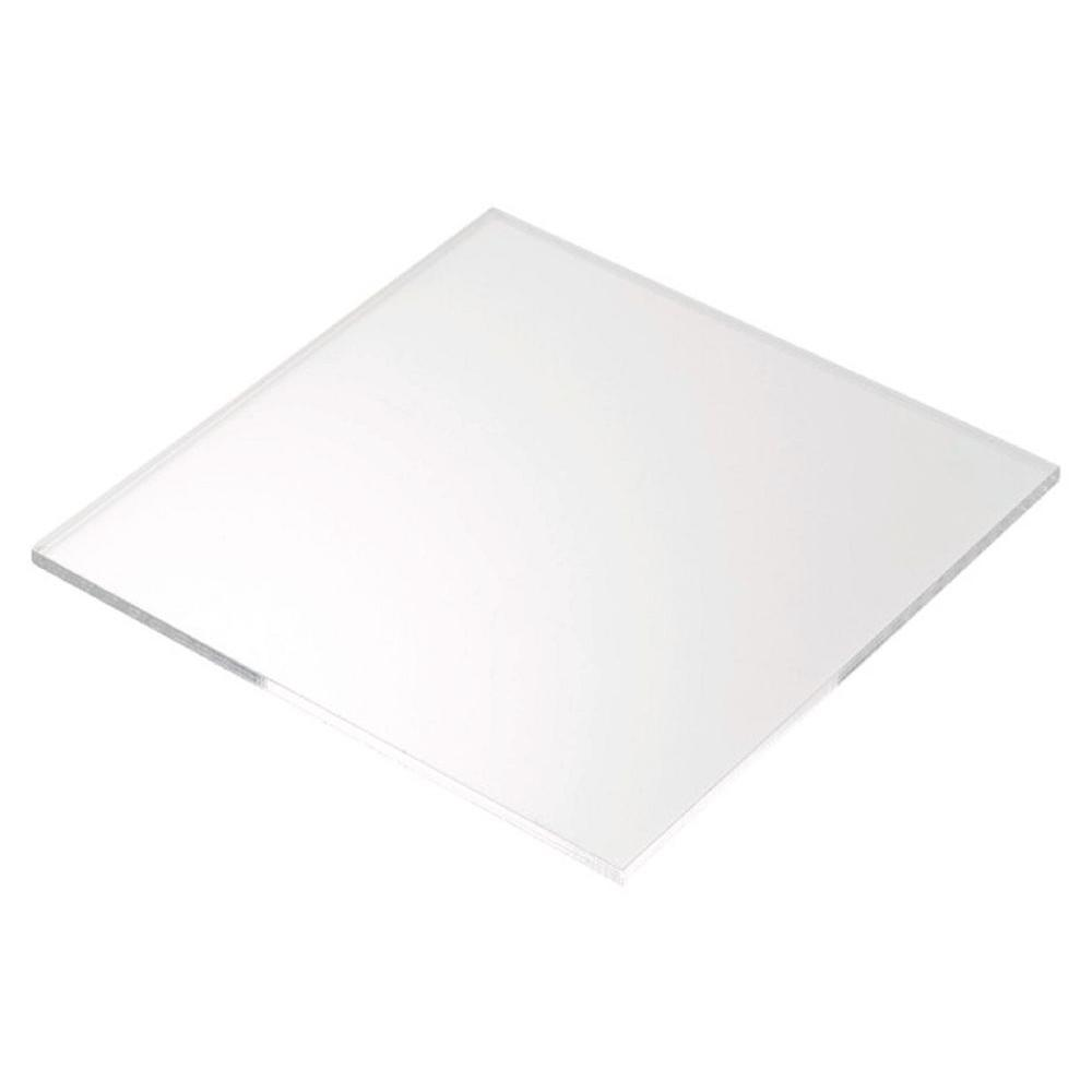 Plexiglas 48 in. x 48 in. x 0.250 in. Acrylic Sheet (2-Pack)