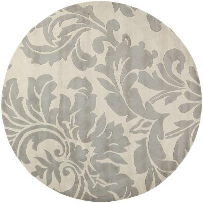 Bellaire Gray 10 ft. x 10 ft. Round Indoor Area Rug