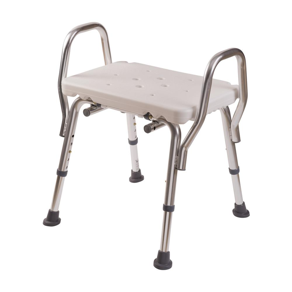 DMI Shower Chair without Backrest-522-1735-1900 - The Home Depot