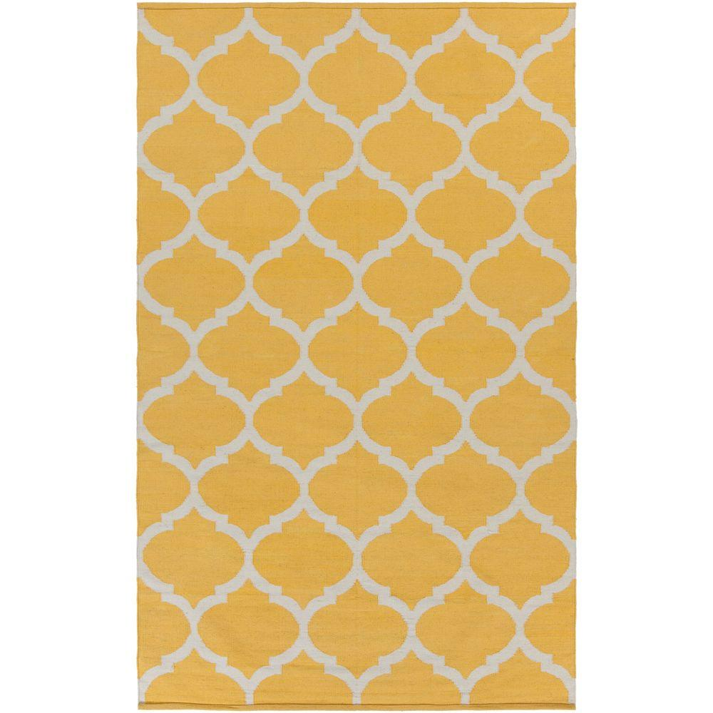 Vogue Everly Butter 9 ft. x 12 ft. Indoor Area Rug