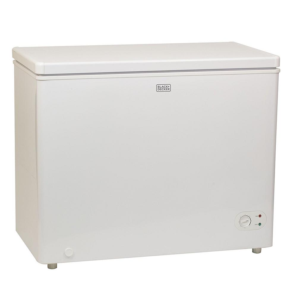 7.1 cu. ft. Defrost Chest Freezer in White