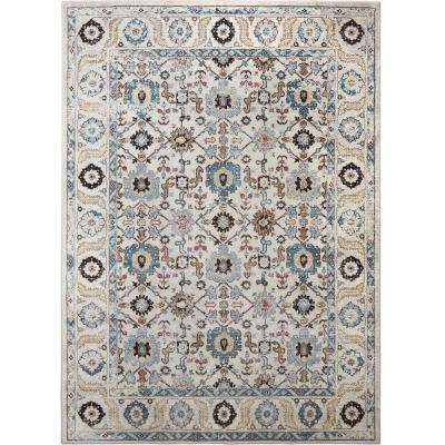 Parlin Lenora Ivory 9 ft. 2 in. x 12 ft. 5 in. Indoor Area Rug