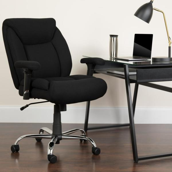 Flash Furniture Black Fabric Office/Desk Chair GO2073F