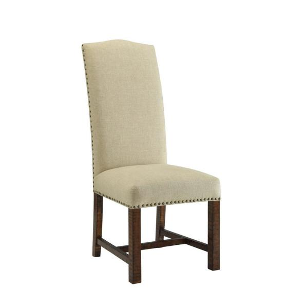 Coast to Coast Chatterly Brown Woodbridge Dining Chair (Set of 2)
