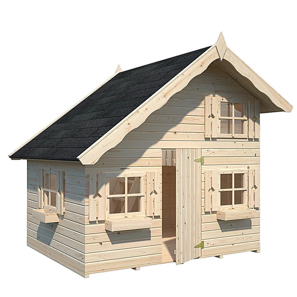 Allwood Rascal Playhouse with a Mini Loft