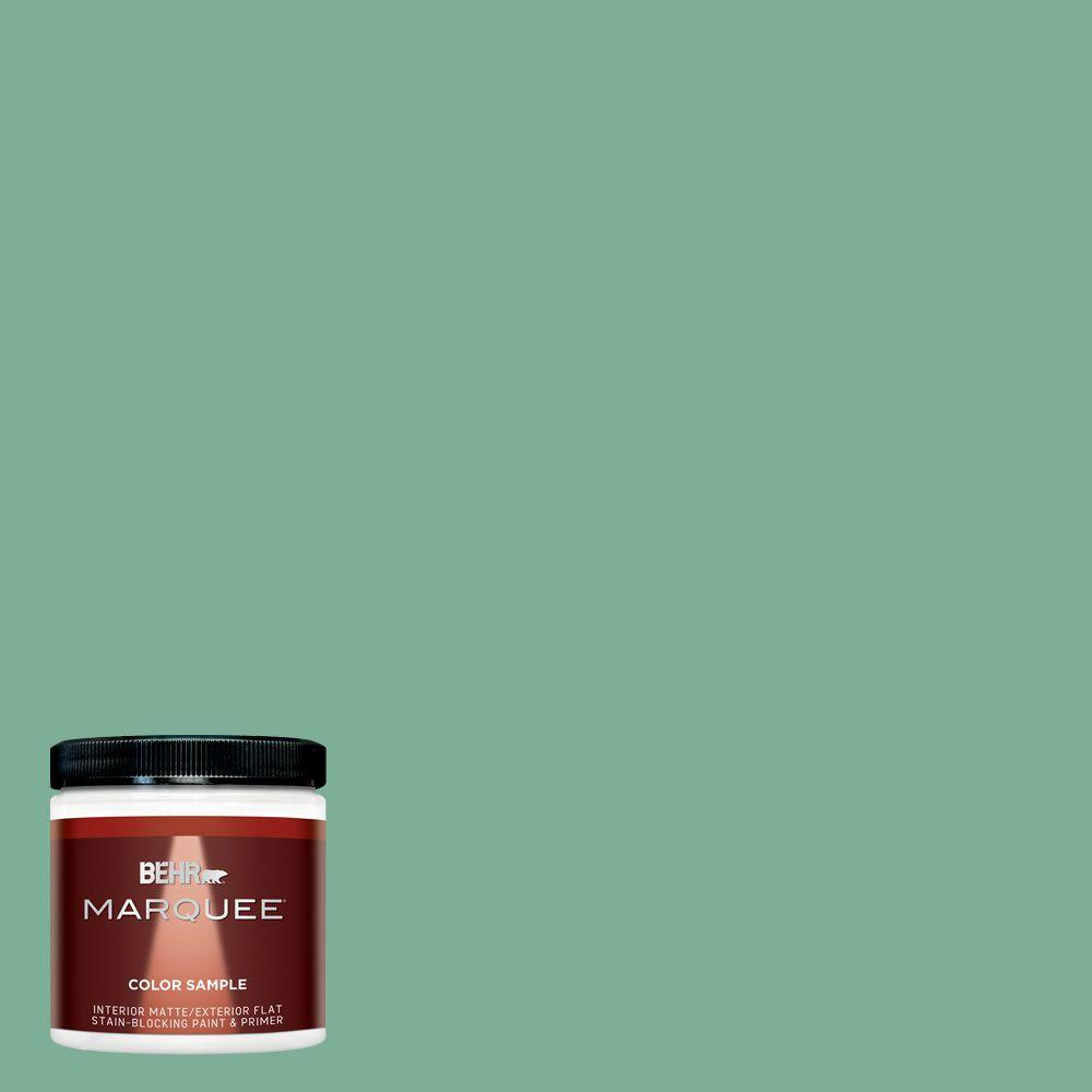 BEHR MARQUEE 8 oz. #MQ6-12 Nature Green Interior/Exterior Paint Sample