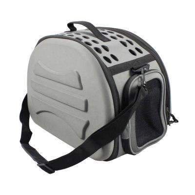 Narrow Shelled Lightweight Collapsible Military Grade Transportable Designer Pet Carrier